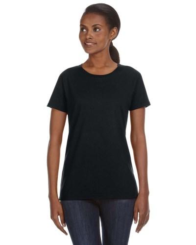 Ladies' Midweight Mid-Scoop T-Shirt
