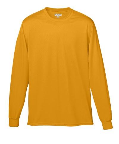 Augusta Sportswear 788 Adult Wicking Long-Sleeve T-Shirt