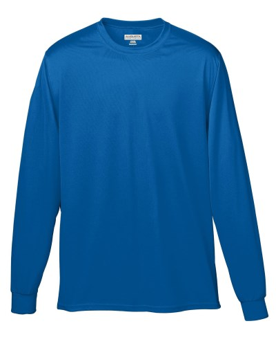 Youth Wicking Long-Sleeve T-Shirt