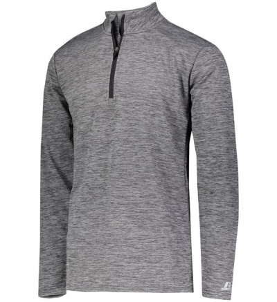 Russell Athletic QZ7EAM Dri-Power Lightweight 1/4 Zip Pullover