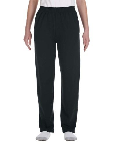 Jerzees 974Y Youth 50/50 NuBlend Open-Bottom Fleece Sweatpants