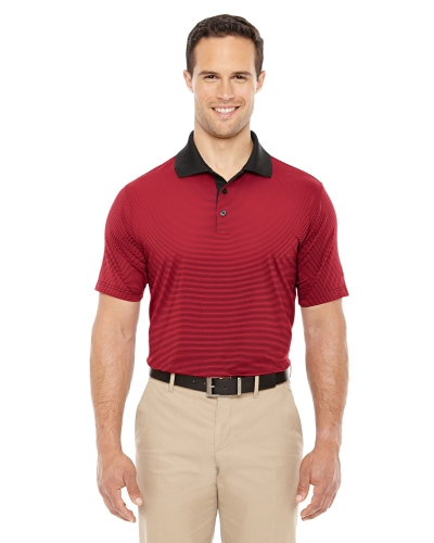 Men's climalite Classic Stripe Short-Sleeve Polo