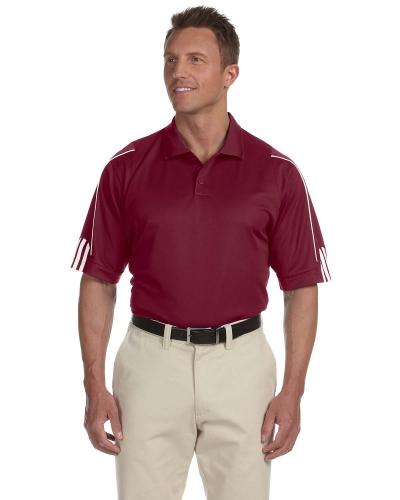 Men's climalite 3-Stripes Cuff Polo