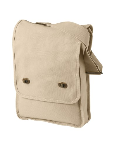 14 oz. Pigment-Dyed Canvas Field Bag