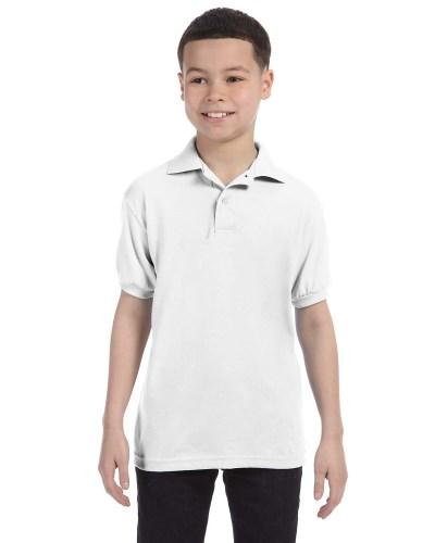 Youth 5.2 oz. 50/50 EcoSmart® Jersey Knit Polo