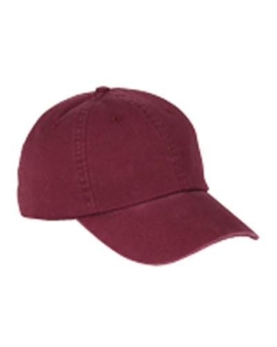 Cotton 6-Panel Washed Twill Low-Profile Cap