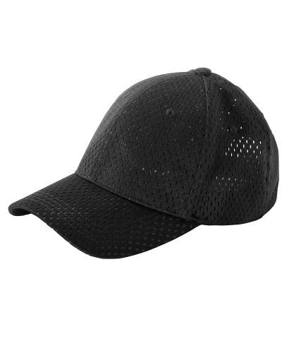 6-Panel Structured Mesh Baseball Cap