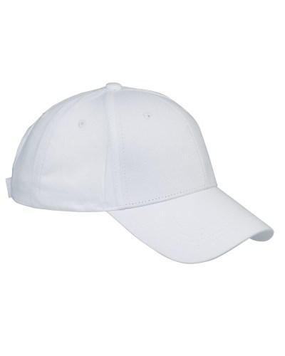 Cotton 6-Panel Structured Twill Cap