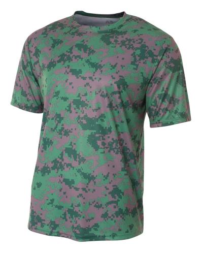 Men's Camo Performance Crew T-Shirt