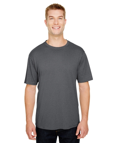 Adult  Topflight Heather Performance T-Shirt