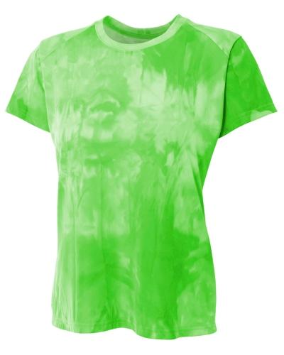 Ladies' Cloud Dye Tech T-Shirt