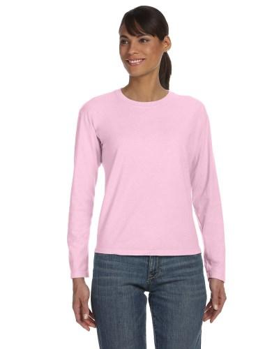 Ladies' Midweight Ringspun Long-Sleeve T-Shirt