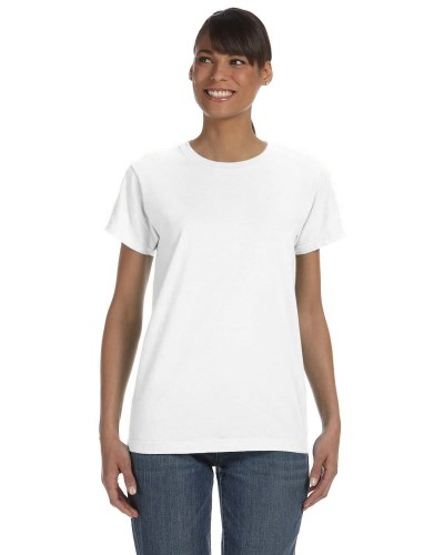 Ladies' Midweight Ringspun T-Shirt