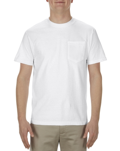 Alstyle AL1905 Soft Spun Cotton Pocket T-Shirt
