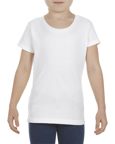 Girls' 4.3 oz., Ringspun Cotton T-Shirt