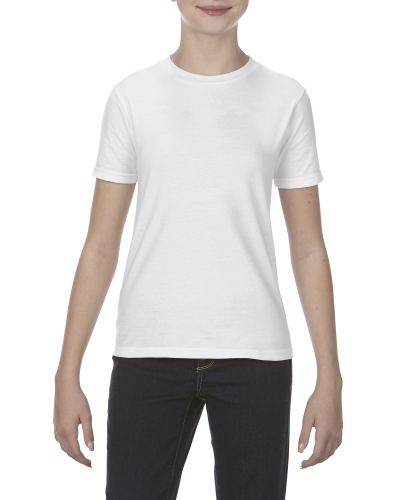 Youth 4.3 oz., Ringspun Cotton T-Shirt