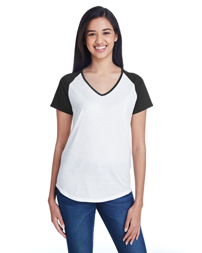 Ladies' Tri-Blend Raglan T-Shirt