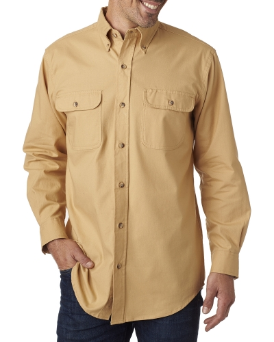Men's Tall Solid Flannel