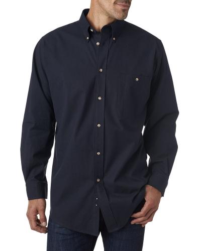 Men's Tall Nailhead Long-Sleeve Woven Shirt