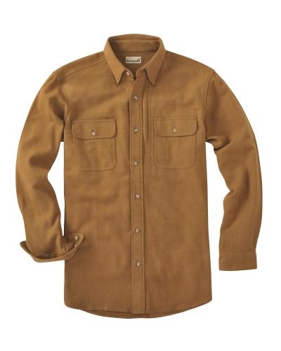 Men's Tall Solid Chamois Shirt
