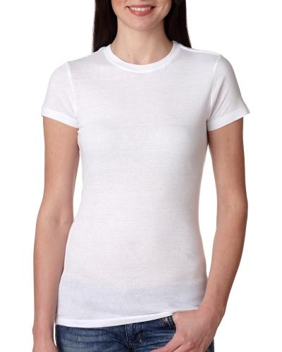 Ladies' 4.2 oz., 100% Ring-Spun Cotton  Jersey T-Shirt