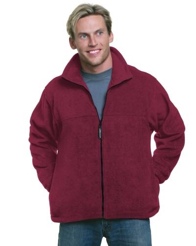 Unisex Full-Zip Polar Fleece Jacket