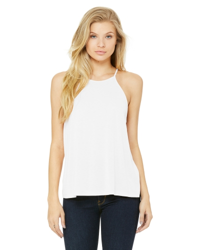 Bella + Canvas 8809 Ladies' Flowy High Neck Tank