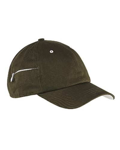 Chino Stash Pocket Cap