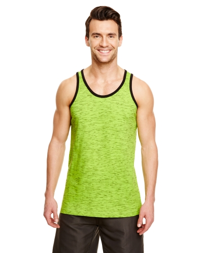 Adult Injected Slub Tank Top