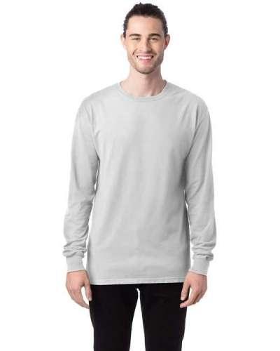 Unisex 5.5 oz., 100% Ringspun Cotton Garment-Dyed Long-Sleeve T-Shirt