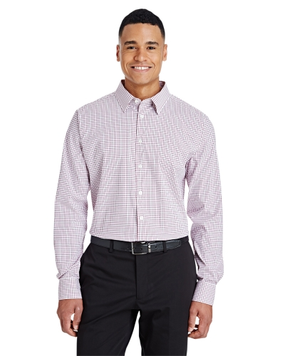 CrownLux Performance™ Men's Micro Windowpane Shirt