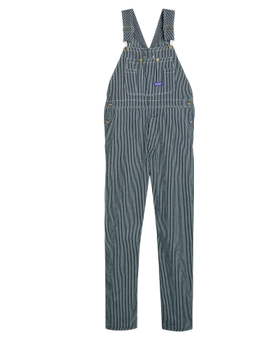 Unisex Big Smith Rigid Denim Bib Overall