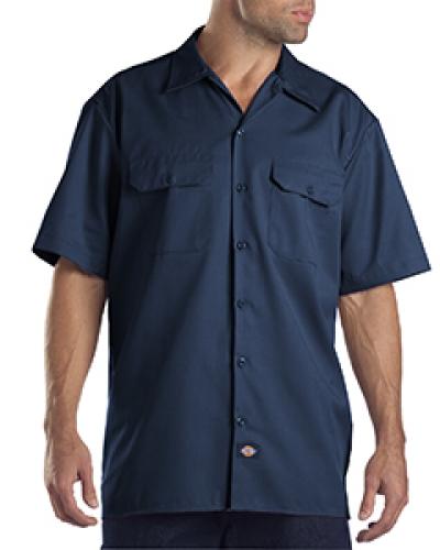 Unisex Tall Short-Sleeve Work Shirt