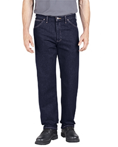 Unisex Industrial Relaxed Fit Denim Jean Pant