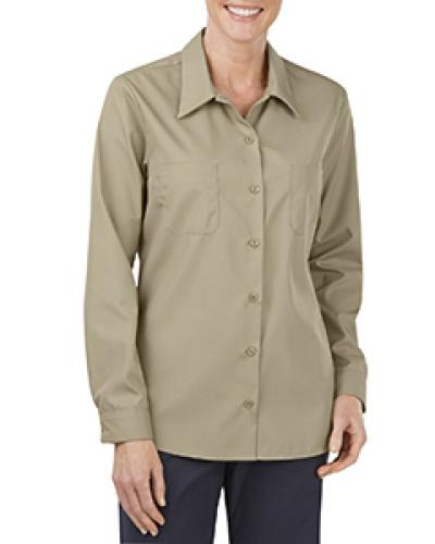 Ladies' Industrial Long-Sleeve Work Shirt