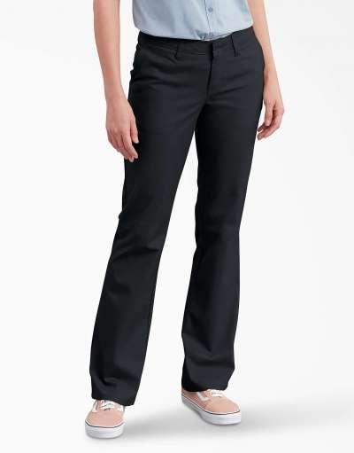 Ladies' Slim Fit Boot Cut Stretch Twill Pant