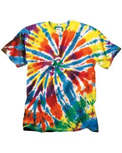 Rainbow Cut Spiral T-Shirt