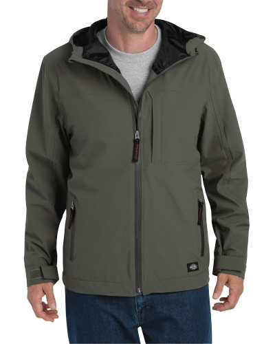 Men's Performance Waterproof Breathable Jacket with Hood