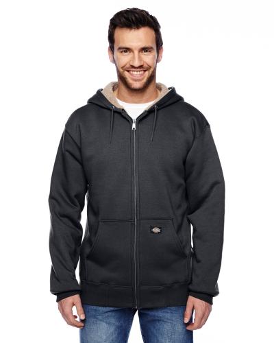 Men's 450 Gram Sherpa-Lined Fleece Hooded Jacket
