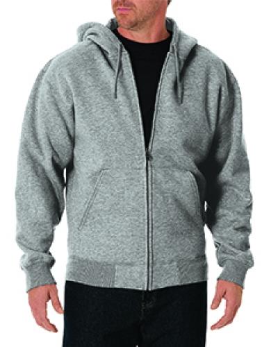 Unisex Tall Midweight Fleece Full Zip Hoodie
