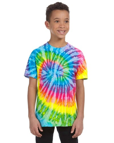 Tie-Dye CD100Y Youth 100% Cotton T-Shirt