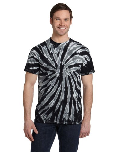 Tie-Dye CD110 Adult 100% Cotton Twist Tie-Dyed T-Shirt