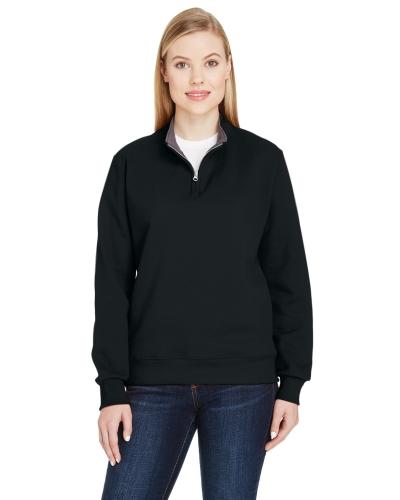 Ladies' 7.2 oz. Sofspun® Quarter-Zip Sweatshirt