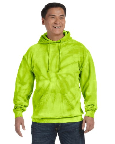 Adult 8.5 oz. Tie-Dyed Pullover Hood