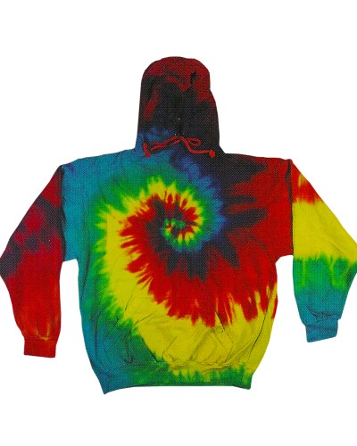Youth 8.5 oz. Tie-Dyed Pullover Hooded Sweatshirt
