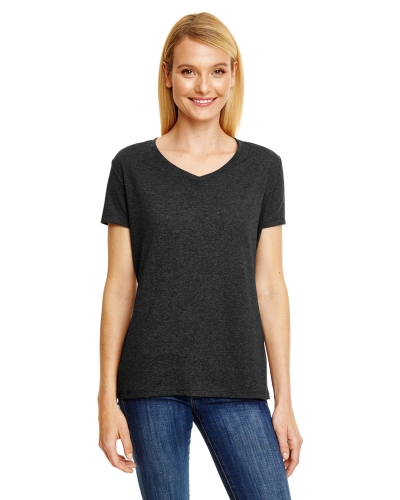Hanes 42VT Ladies' X-Temp® Triblend V-Neck T-Shirt