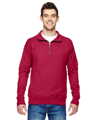 Hanes N290 Adult 7.2 oz. Nano Quarter-Zip