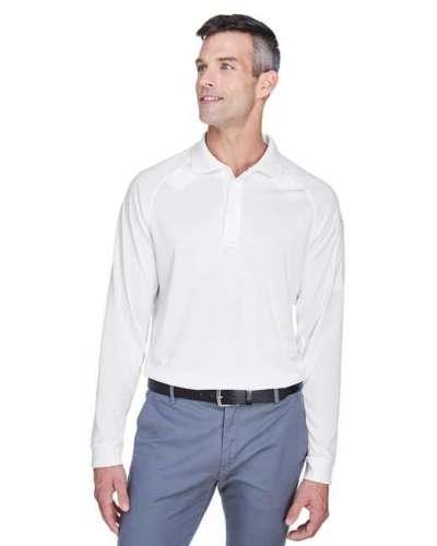 Men's Tactical Long-Sleeve Performance Polo