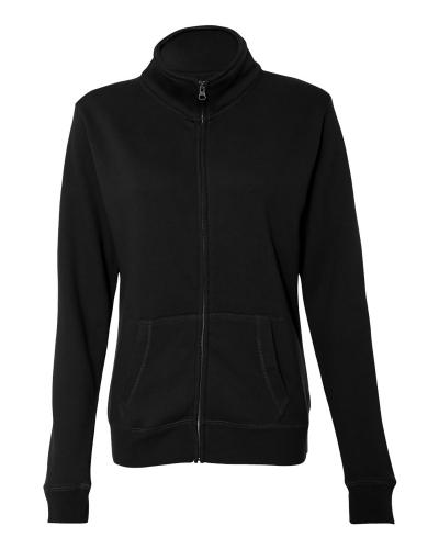 Ladies Sueded Fleece Full Zip Jacket