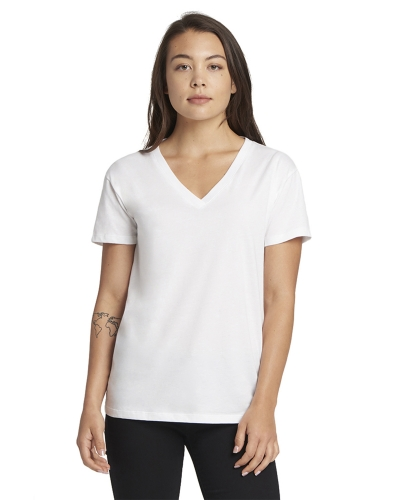 Next Level 3940 Ladies' Relaxed V-Neck T-Shirt